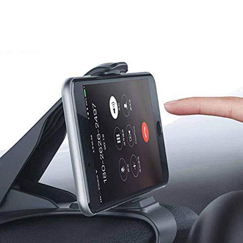 Universal Cradle Soporte GPS Ajustable HUB Dashboard Phone Mount Teléfono Inteligente de navegación GPS Soporte para Coche Negro