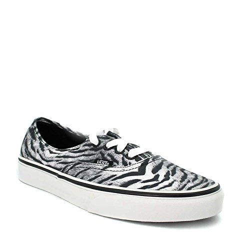 Vans  U AUTHENTIC (TIGER) BLACK/T, Sneakers Basses adulte mixte Gris (Pewter/Black)
