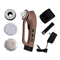 Cleaning Shoes Polish Brush Set Leather Shine Kit Electric Cleaner with Rechargeable Batttery