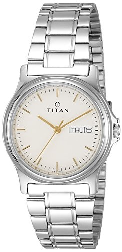 Titan Karishma Analog White Dial Women's Watch - NE390SM04