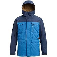 Burton Covert Snowboard Chaqueta, otoño/Invierno, Hombre, Color Vallarta Blue/Mood