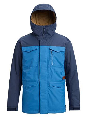 Burton Herren Covert Snowboard Jacke, Vallarta Blue/Mood Indigo, L -