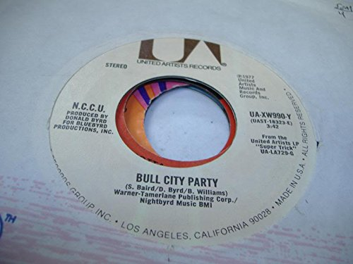 N.C.C.U. 45 RPM Bull City Party / Sleepy Time Is Over