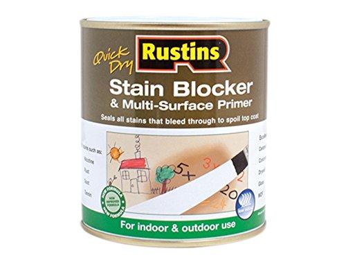 Rustins RUSQDSBP1L Quick Dry Stain Block & Multi Grundierung 1 Liter