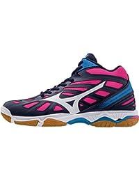 Mizuno Wave Hurricane Mid Wos, Chaussures de Volleyball Femme