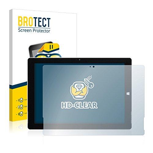 BROTECT Schutzfolie kompatibel mit Wortmann Terra Pad 1062 Pro [2er Pack] klare Bildschirmschutz-Folie