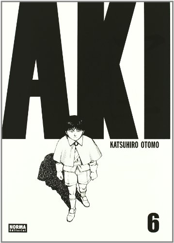 AKIRA 06 (CÓMIC MANGA) por Katsuhiro Otomo