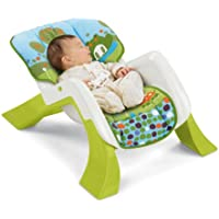 Fisher-Price - T3646 - Chaise 4 en 1 évolutive (transat, balancelle, chaise haute, chaise)