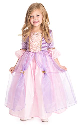 Deluxe Mädchen Tangled Rapunzel Kostüm - Little Abenteuer Deluxe Rapunzel Mädchen Prinzessin