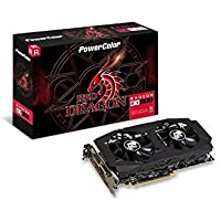 PowerColor Radeon RX 580 RED Dragon V2 Radeon RX580 Graphic Card 8192 MB