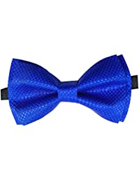 Red Eye Royal Blue Designer/Partywear Bow Tie For Men