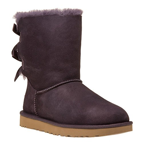 Bottines - Boots, couleur Violet , marque UGG, modèle Bottines - Boots UGG W BAILEY BOW II Violet