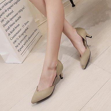 Moda Donna Sandali Sexy donna tacchi Primavera / Autunno / Inverno Comfort Fleece / Cashmere Wedding / Party & sera abito / Stiletto Heel OthersBlack / Blu Royal / Black