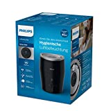 Philips Luftbefeuchter HU4814/10 (bis zu 44 m², hygienische NanoCloud-Technologie, leiser Nachtmodus, Automodus) schwarz - 6
