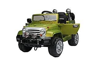 Baybee Baybee Voyager Battery Operated Jeep(Military Green) with Remote Control