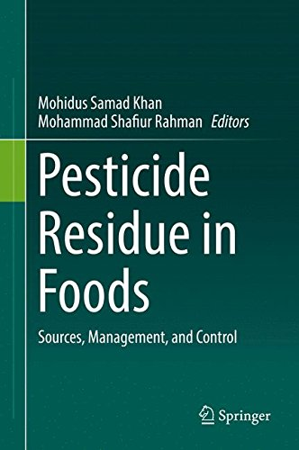 Pesticide Residue in Foods: Sources, Management, and Control