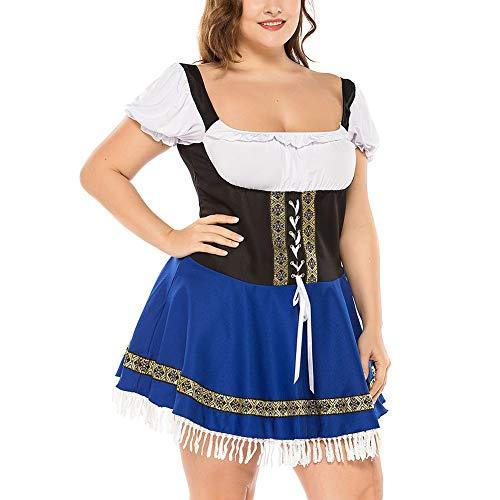 Kostüm Maid Home - Halloween kostüme für frauen Oktoberfest Kostüm Octoberfest Bayerischen Maid kostüm Party Weibliche Oktoberfest Kleid Bier Kostüm