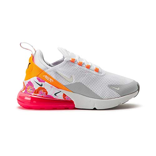 Nike Damen W Air Max 270 Se Leichtathletikschuhe, Mehrfarbig Summit White/Metallic Silver 101, 38 EU