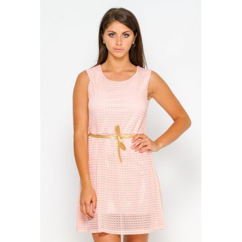 Princesse boutique - Robe rose dos nu Rose