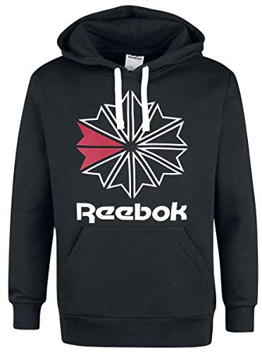 Reebok Star Hoody Kapuzenpullover schwarz XXL