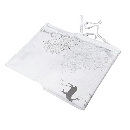 WINOMO Wasserdichte Waschmaschine Cover Automatische Roller Drum Haushalt Waschmaschine Cover (Liebe Patterns)