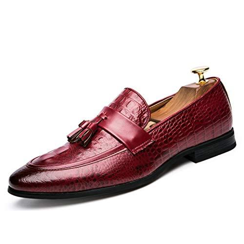 Zapatos Vestir Hombres Zapatos Punta Puntiaguda Mocasines