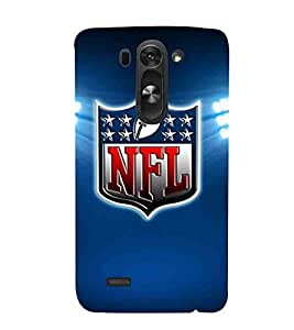 Football, Blue, League CUP, Beautiful Pattern, Printed Designer Back Case Cover for LG G3 S :: LG G3 S Duos :: LG G3 Beat Dual :: LG D722K :: LG G3 Vigor :: LG D722 D725 D728 D724