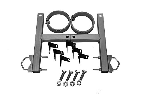 Preisvergleich Produktbild A.S.Sat 38910 verzinkter Stahl Schornstein- Masthalterset ohne Bohren für Montage