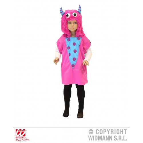 Widmann-WDM9299K Kostüm für Mädchen, Rosa, WDM9299K