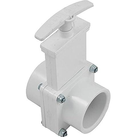 Valterra 6101X PVC saracinesca Bianco (1.5 Pvc Slittamento)
