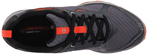 Merrell All Out Crush Light, Scarpe da Trail Running Uomo Grigio (Grey/orange)