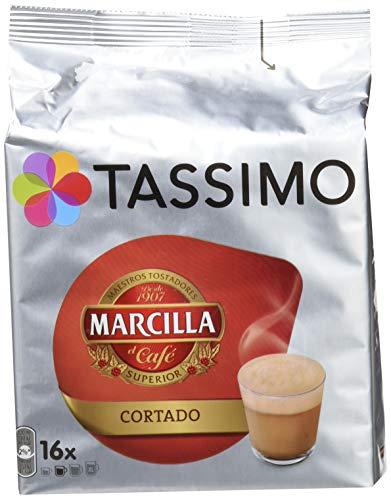Tassimo Café Marcilla Cortado - 16 Cápsulas