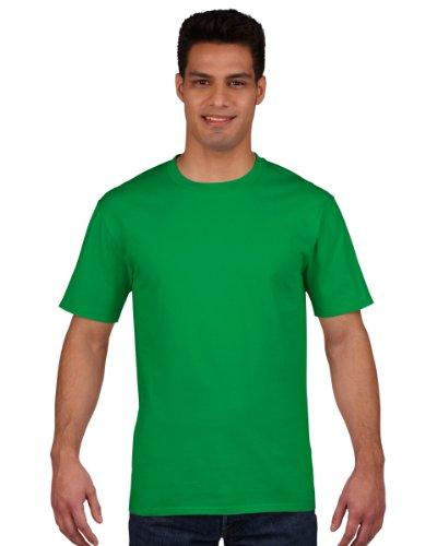 Gildan Premium T-Shirt für Männer (XL) (Irisches Grün) XL,Irisches Grün