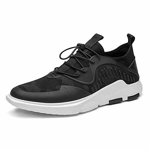 YIXINY Chaussures de sport 17133 Chaussures De Course De Printemps Et D'automne Noir Respirant Loisirs De Plein Air Masculin Poids Léger