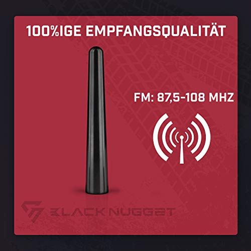 Universal goma antena antena de radio antena de coche con articulación