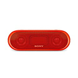 Sony SRS-XB20/RC IN Portable Bluetooth Speakers (Red)