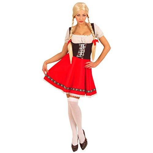 Imagen de disfraz heidi bayerin tirolesa bayrisch wiesn alpen chica mujer disfraz oktoberfest tracht gr l 42/44