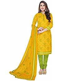 Miraan Printed Unstitched Cotton Dress Material And Churidar Suit For Women (2310)