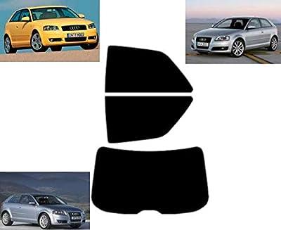 Film Solaire Prédécoupé Teinté pour-Audi A3 3-Portes 2003-2010 Vitres Arrière & Lunette