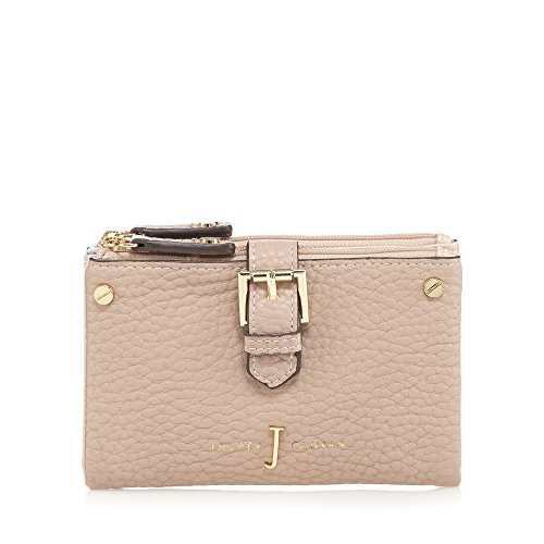 j-by-jasper-conran-womens-light-pink-mock-buckled-soft-fold-over-medium-purse