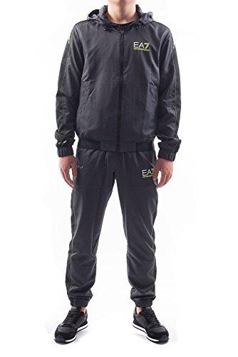 Emporio Armani EA7 Herren Jumpsuit fashion Anzug Sweatshirt Grau EU M (UK 38) 3ZPV04PN30Z1994