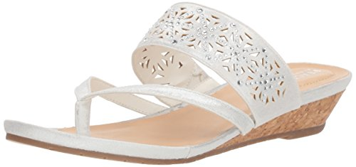 Kenneth Cole Reaction Women's Chime Low Thong Wedge Sandal