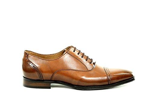CESARE CONTI , Chaussures de ville à lacets pour homme Marrón