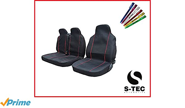 tech automotive Van Seat Covers S Black