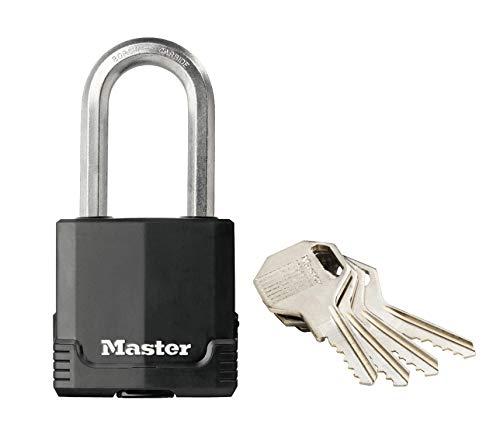 Plateado Master Lock M1EURT Lote de 2 candados Excell 45 mm