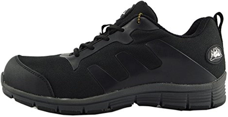 Kick Footwear Basisarbeit Herren Sicherheitsschuhe mit Stahlkappen