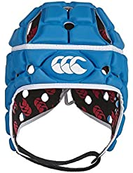 Canterbury 410575111 - Casco Headgear con ventilación, color azul, tamaño small