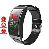 AZZSA Color Screen Smart Bracelet Blood Pressure Heart Rate Sleep Monitoring Fitness Tracker