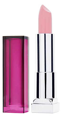 Maybelline New York Make-Up Lippenstift Color Sensational Pearly Nudes Lipstick Zartes Pink, mit pflegender Wirkung, 1 x 5 g (Pink Lippen Pearl)