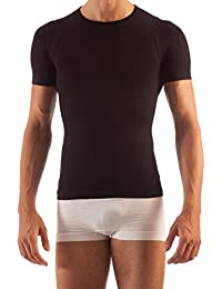 Farmacell 419 Men's short sleeve tummy control body shaping T-shirt